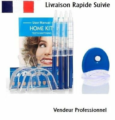 Blanchiment dentaire kit avec gel blanchissant / DENTS BLANCHES WHITE SMILE