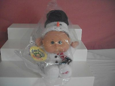 Cabbage Patch Kids Snugglies Holiday Edition Snowman Sidney Billy 3-5 New Rare