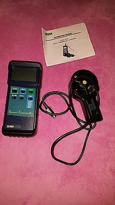 Extech Digital Thermometer/ Anemometer Model 407112