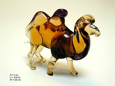 Camel - Hand Made Art Glass African Desert Animals figurines