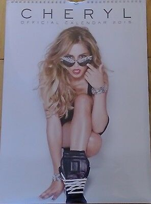 Cheryl Cole 2015 Official Calendar New & Sealed Girls Aloud