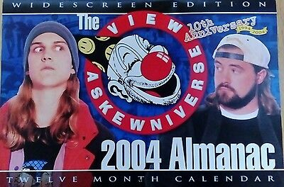 The View Askewniverse 2004 Almanac 12 Month Calendar Kevin Smith