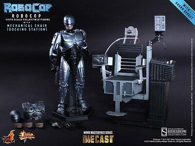 RoboCop mit Mechanical Chair - Hot Toys MMS Diecast Figur