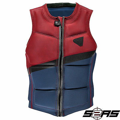 2017 Brunotti Indian Wakeboard Impact Vest (Blue)