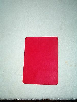"Red Self-Adhesive Backed Felt Pads, 5 3/8"" x 7 1/2"", Lot of 6"