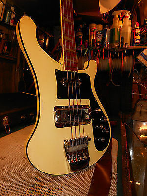 "1975 Rickenbacker 4001 "" Blondie "" Killer Action and Crazy Tone Vintage Bass"