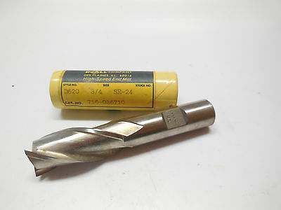 """GREENFIELD DOALL 1//16/"""" HSS Stub 4 Flutes Double End Mill endmill USA 58008"""