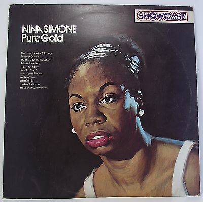 "NINA SIMONE : PURE GOLD Album Vinyl LP 12"" 33rpm Excellent"