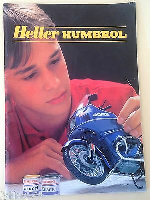 Catalogue Heller Humbrol 1985 vintage