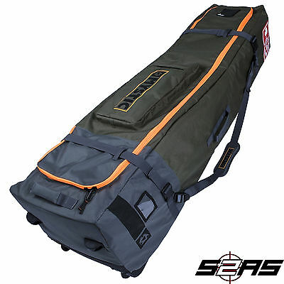 2017 Mystic Golf Pro Kitesurf Bag With Wheels (Army)