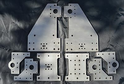5mm Stainless steel Openbuilds Kyo Sphinx  CNC Router Plates Extra LARGE