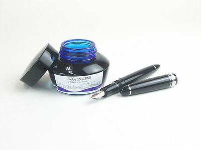 No.37 Island Blue: NAGASAWA Kobe Ink for Fountain Pen 50ml Bottle New Japan