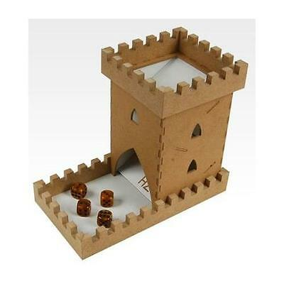 Hobbyzone Castle Dice Tower for Traditional & Role Playing Table Games