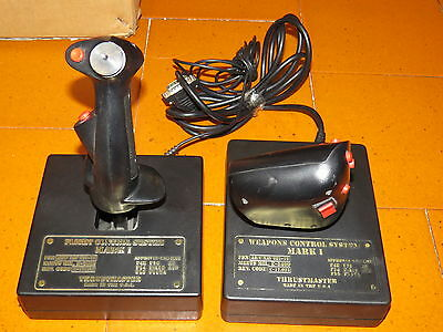 Thrustmaster Flight and Weapon Control System Mark I Made In The USA