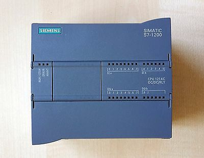 Simatic S7-1200, Cpu 1214C Dc/dc/rly V2, 6Es7214-1He30-0Xb0, Fantastic Condition