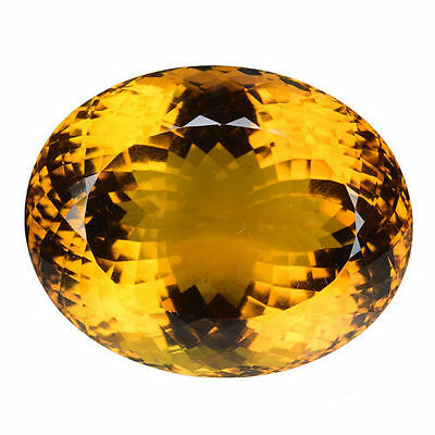 136.200 Cts Collectors Choice Beautiful Honey Natural Citrine Oval Gemstones