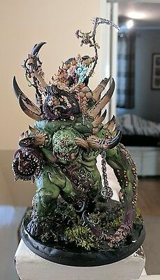 Warhammer Age Of Sigmar Nurgle Rotbringer THE GLOTTKIN pro painted Chaos warrior
