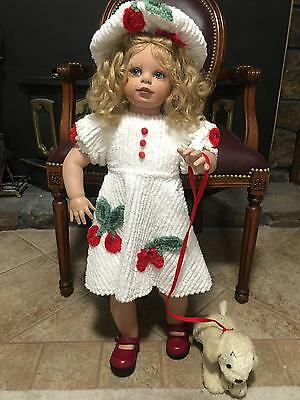 Cherie VINYL Special Edition Virginia Turner Doll LE OF 500 ARTIST SIGNED