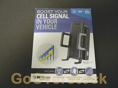 Excellent Wilson weBoost Drive 4G-S Car Cradle Cell Phone Signal Booster Kit