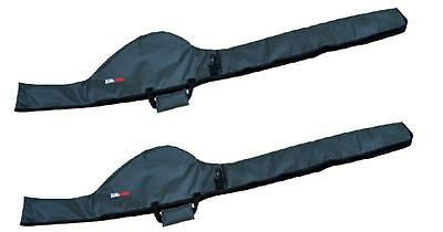 2 x NEW ROD & REEL HOLDALL SLEEVES BAG, CARP FISHING, Takes Big Pits