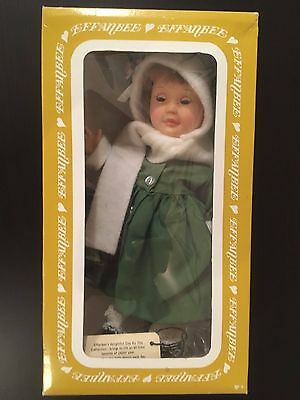 VINTAGE 1970's Effanbee Doll - Day by Day Thursday's Child