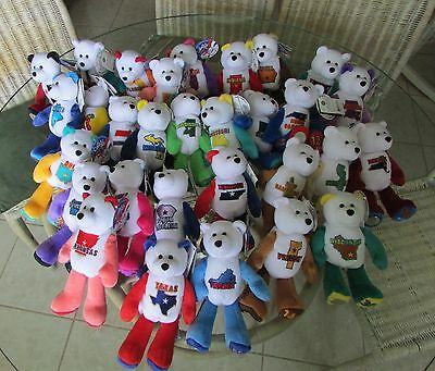 CHOICE! Limited Treasures State Coin Bears NWT~Your Choice ~ See List FREE SHIP!