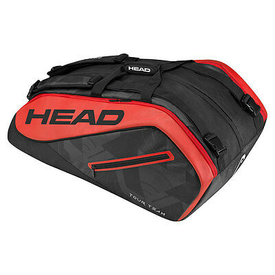 HEAD TOUR TEAM 12R MONSTERCOMBI Tennistasche Racket Bag für 12 Schläger 283437