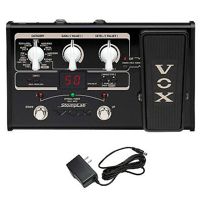 Vox STOMPLAB2G SL2G Modeling Guitar Multi-Effects Pedal with Power Supply