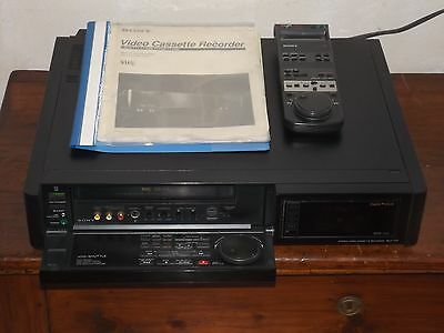 SONY SLV-777 HQ VHS VCR HiFi Stereo Video Cassette Recorder