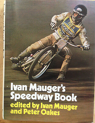 Ivan Mauger hand-signed speedway book 1972