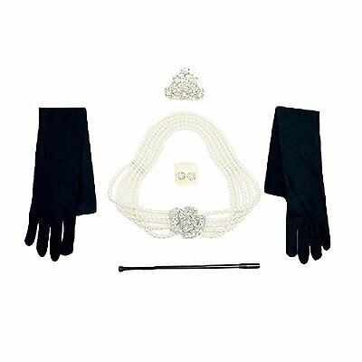 Audrey Hepburn Holly Golightly Breakfast at Tiffanys Costume Jewelry and Set