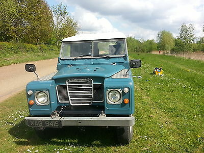 Land Rover Series 3 109, Petrol/LPG, Hard and Soft Top