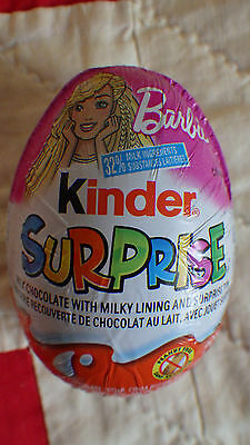 Barbie New 2017 Kinder Surprise 1 egg with chocolate