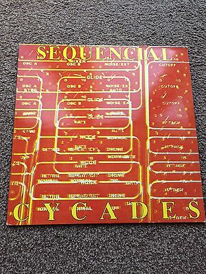"""Sequential - CYCADES 90s 12"""" inch Vinyl Techno Trance Rave House"""