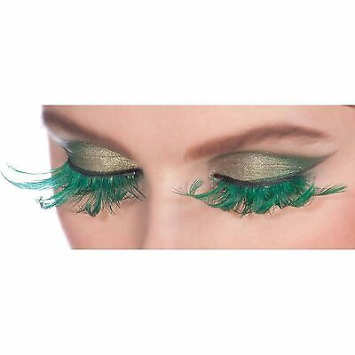 Fairy Green Feather Lashes, 2 pack