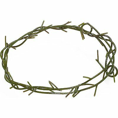 Jesus Thorn Crown Costume Accessory, Brown, One Size