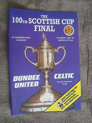 1985 Scottish Cup Final - Dundee United V Celtic (100Th Scottish Cup Final)