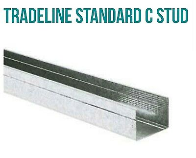 metal c stud and track (tradeline) 70mm x 2400  50 lengths/10 lengths track 3mtr