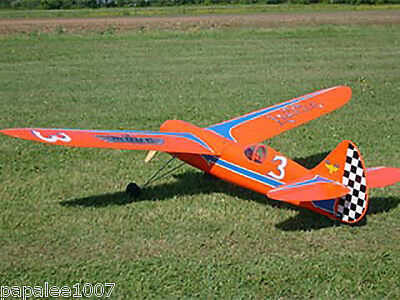 """Model Airplane Plans (FF): Antique LANCER 72"""" Class 'C' by (New Cyclone - 1939)"""