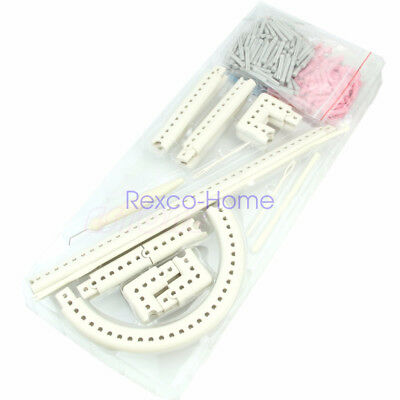 Multifunction Craft Yarn Knitting Board Weave Loom Kit DIY Tool with Instruction