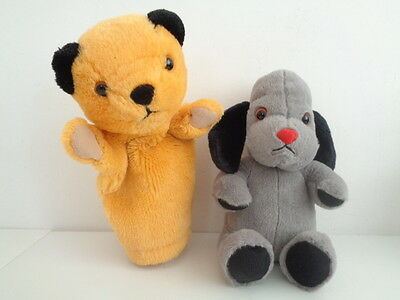 """Sooty And Sweep - 9"""" Sooty Hand Puppet + 9"""" Sweep Soft Toy"""