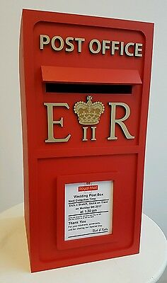 Royal Mail Post Office Box Replica