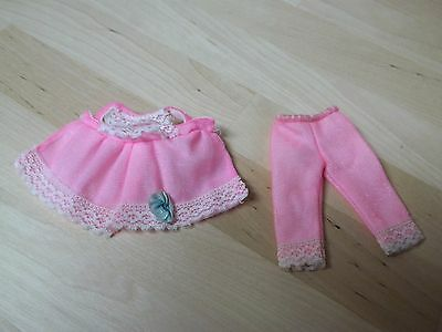 1960's Barbie Family Tutti Pinky P.j.'s - #3616 - Cute Little Pajamas Fit Chris