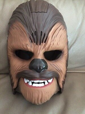 Star Wars The Force Awakens Chewbacca Electronic Talking Mask Hasbro 2015