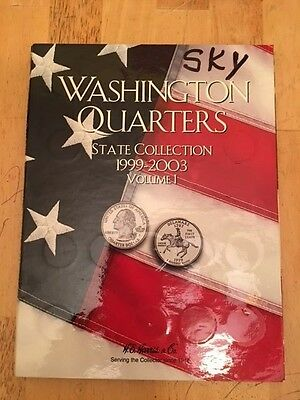 Complete Set of WASHINGTON QUARTERS State Collection 1999-2003 VOLUME 1