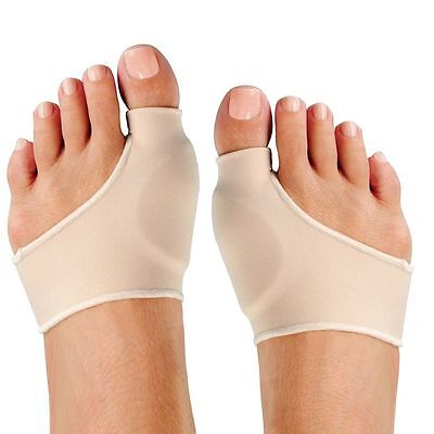 Health Care Soft L/S Size Bunion Pads Spandex Gel Cushions Foot Matters