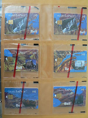 Superb Album # 1 Collection Of 105 Diff. Phonecards From Bell Canada B10001-130