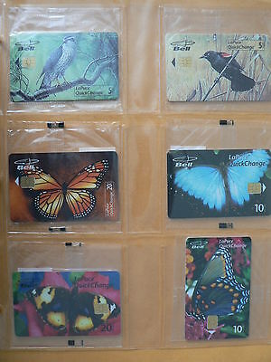 Superb Album # 4 Collection Of 97 Diff. Phonecards From Bell Canada B30136-239