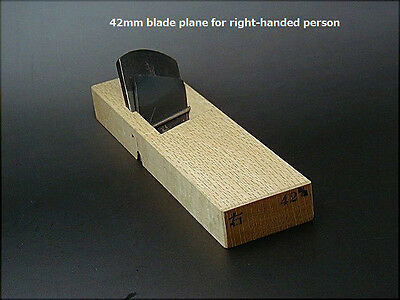 Japanese Handmade Plane for Both Right & Left Handed  made by Haku-Ryuu-Sai.