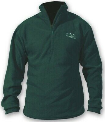 Ridgeline Micro Fleece Zip Hunting Top Olive